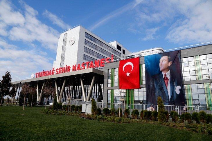 Başkan Erdoğan açacak! Tekirdağ Şehir Hastanesi hizmete giriyor