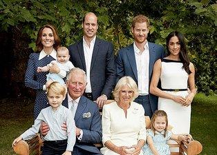İngiliz Kraliyet Ailesi özel çekimlerinde Prenses Diana detayı dikkat çekti