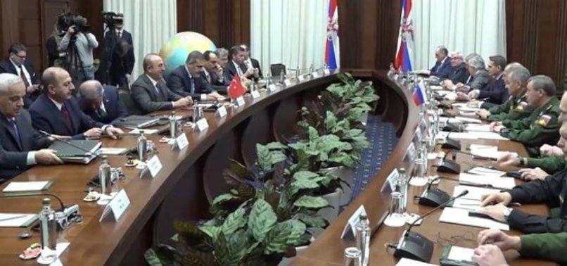 SON DAKİKA: RUSYA'DA KRİTİK TOPLANTI 1 BUÇUK SAAT SÜRDÜ