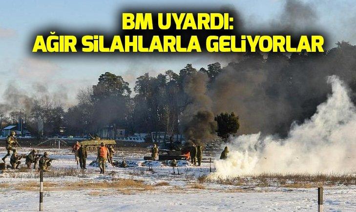 BM'DEN RUSYA'YA UKRAYNA UYARISI