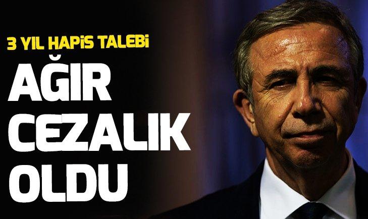 CHP'li Mansur Yavaş'a 3 yıl hapis talebi!