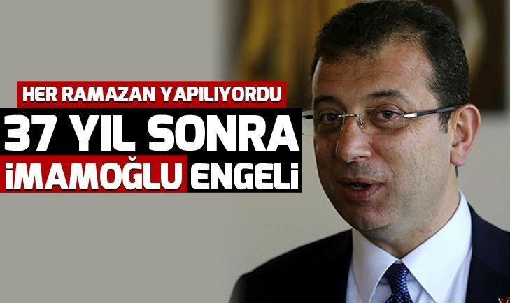 İstanbul Dini Yayınlar Fuarına 37 yıl sonra Ekrem İmamoğlu engeli