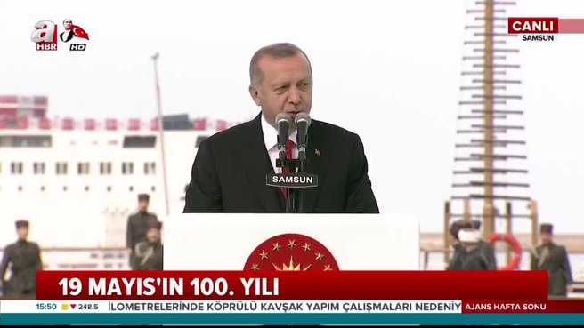 Erdoğan: Daha güçlü bir gelecek için...