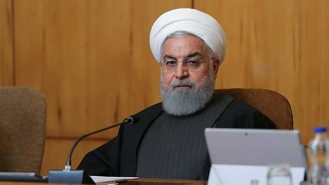 Ruhani'de ABD ve İsrail'e sert sözler