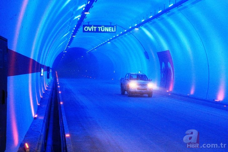 138 yıllık hayal gerçekleşiyor! Türkiye'nin en uzun tüneli OVİT TÜNELİ açılıyor
