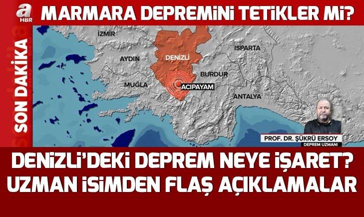 Denizli'deki 5.5 büyüklüğündeki depremin devamı gelir mi? Denizli'deki deprem neye işaret?
