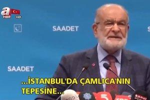 Temel Karamollaoğlu Çamlıca Camii'ni hedef aldı   Video