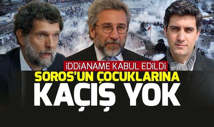 Son dakika: Osman Kavala ve 16 kişi hakkında iddianame kabul edildi