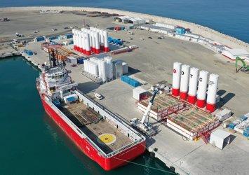 Ulaştırma ve Altyapı Bakanı Adil Karaismailoğlu müjdeyi verdi: Filyos Liman altyapısı yüzde 99.5'e ulaştı