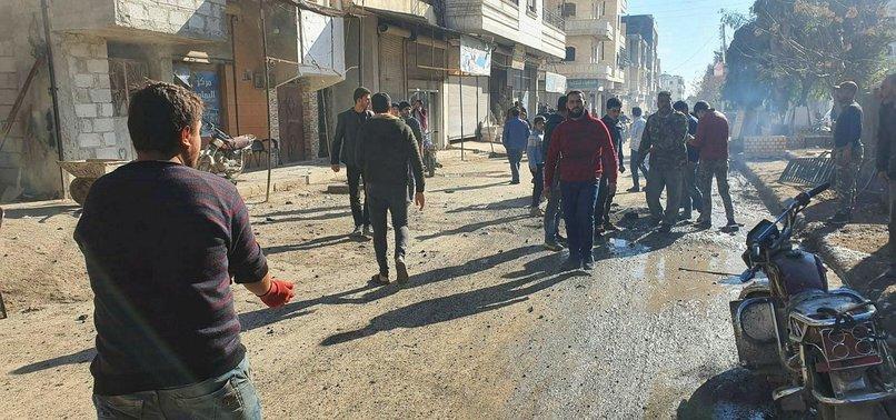 YPG'Lİ TERÖRİSTLER YİNE SİVİLLERİ HEDEF ALDI! TSK ANINDA KARŞILIK VERDİ