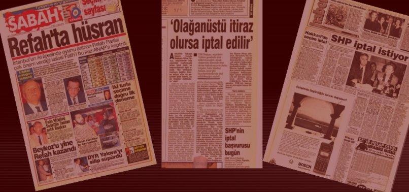 SHP, İSTANBUL VE ANKARA'YI KAYBETTİ, TÜM TÜRKİYE'DE SEÇİMİN İPTALİNİ İSTEDİ!