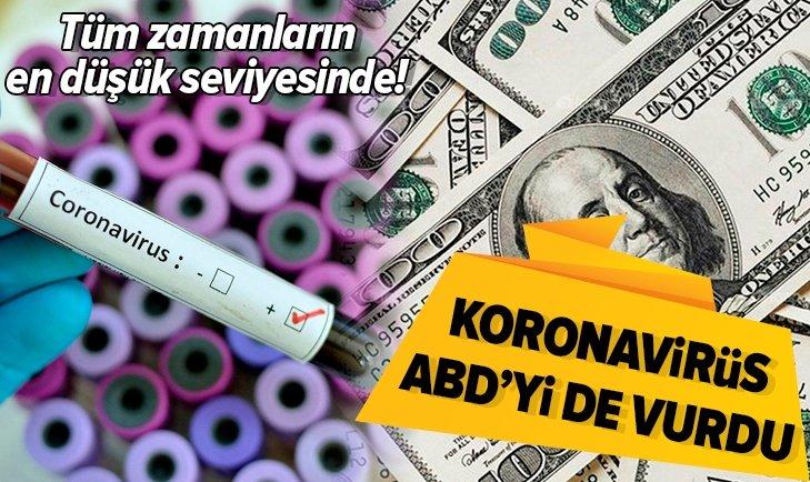 KORONAVİRÜSABD'Yİ DE VURDU! DEVLET TAHVİLİ GETİRİSİ...