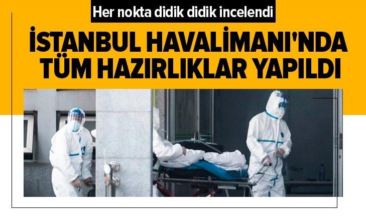 İSTANBUL HAVALİMANI'NDA VİRÜS ÖNLEMİ!