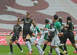 Konyaspor Göztepe maçı özeti ve goller! Süper Lig 19. haftada kıran kırana geçen mücadele
