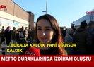 Metro ve metrobüs seferleri aksadı İstanbullu vatandaşlar isyan etti |Video