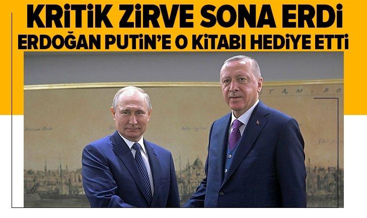 Başkan Erdoğan ve Putin zirvesi sona erdi