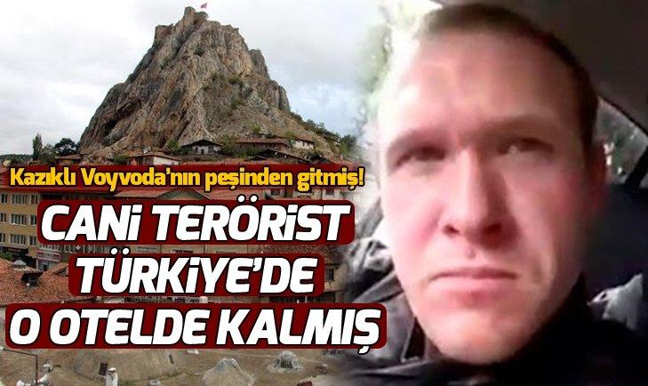 İşte Yeni Zelanda teröristi Brenton Tarrant'ın Tokat'ta kaldığı otel