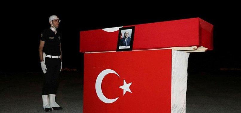 HALUK DURSUN'UN CENAZESİ İSTANBUL'A GETİRİLDİ