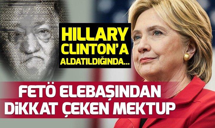 FETÖ ELEBAŞINDAN DİKKAT ÇEKEN MEKTUP!