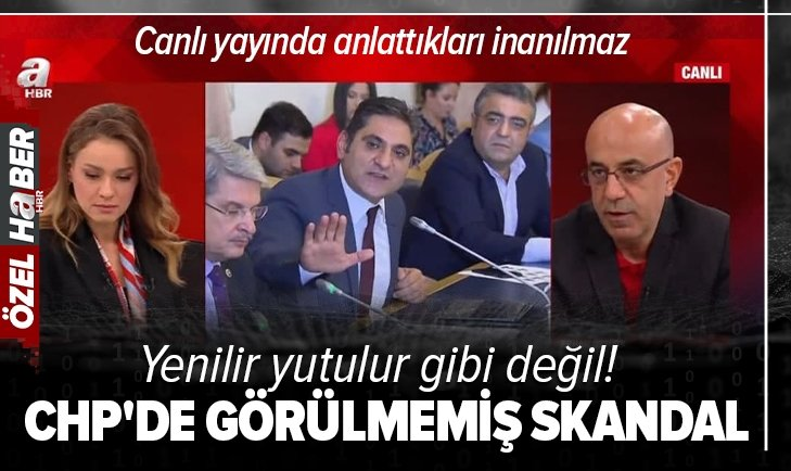 """""""CHP'de 650 milyon nerede?"""" kavgası ve CHP milletvekilinin """"haraç"""" tartışması"""