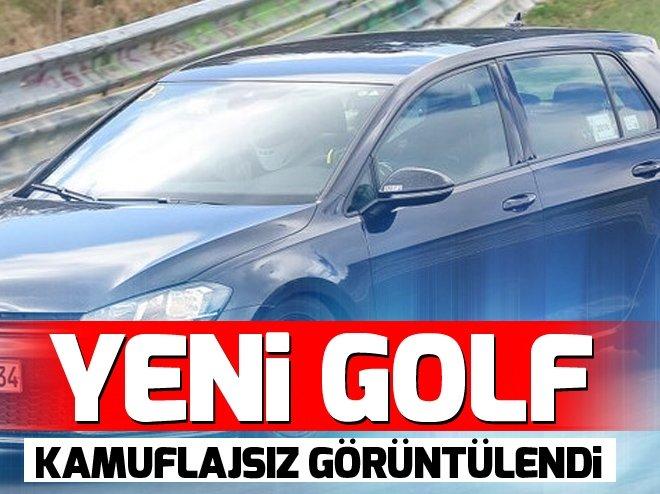 2020 model Volkswagen Golf kamuflajsız görüntülendi