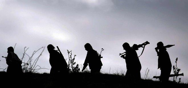 PKK'LI TERÖRİSTLERİN ALÇAK YAZIŞMALARI