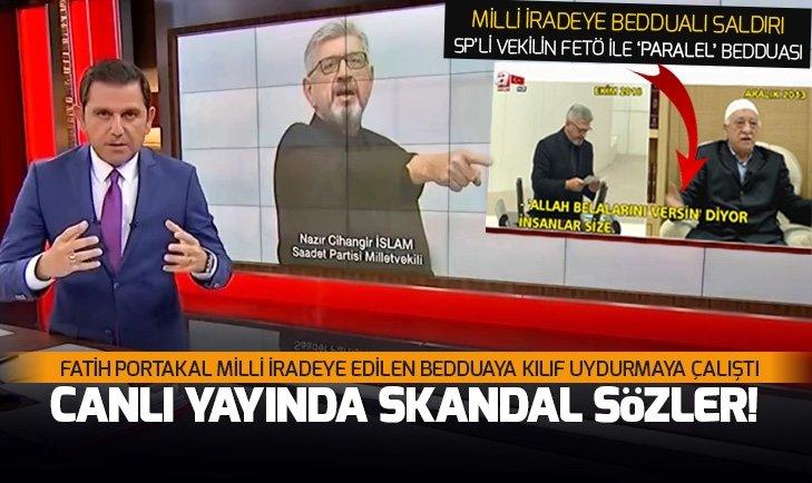 FETÖ elebaşı Gülen ile 'paralel' beddua eden Cihangir İslam'a Fatih Portakal 'koruması'
