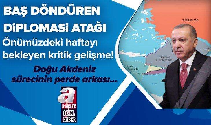 Başkan Erdoğan'dan baş döndüren diplomasi atağı | İşte Doğu Akdeniz'de yaşananların perde arkası...