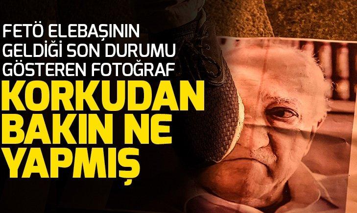 Korkudan bakın ne yapmış! FETÖ elebaşı Gülen'in geldiği son durumu gösteren fotoğraf