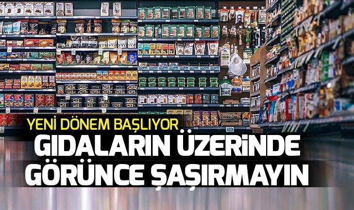 AMBALAJLI GIDALARDA 'TRAFİK IŞIĞI' UYGULAMASI BAŞLIYOR! İŞTE O KRİTERLER...