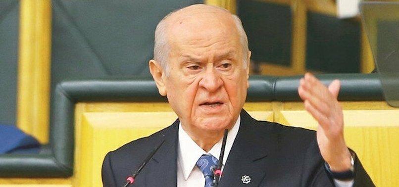 Son dakika: MHP lideri Devlet Bahçeli: HDP isimli husumet ve hıyanet oluşumunun kapısına kilit vurulmalıdır!