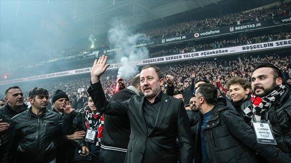 Sergen Yalçın Beşiktaş'tan ayrılıyor mu?