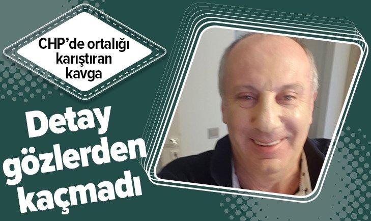 MUHARREM İNCE'NİN KAFA KARIŞTIRAN FOTOĞRAFI!