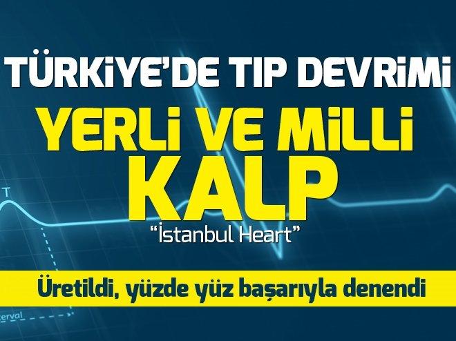 Yüzde 100 Türk üretimi kalp pompası başarıyla denendi
