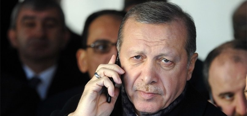 ERDOĞAN'DAN ALİYEV'E TAZİYE TELEFONU