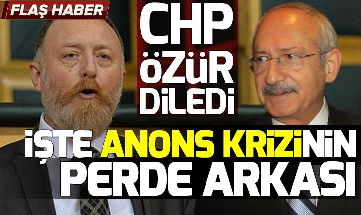 CHP-HDP ittifakında anons krizi