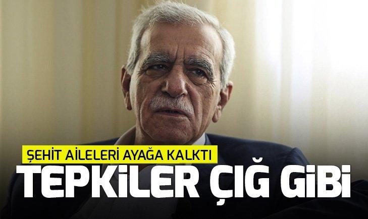 HDP'li Ahmet Türk'e tepkiler çığ gibi büyüyor