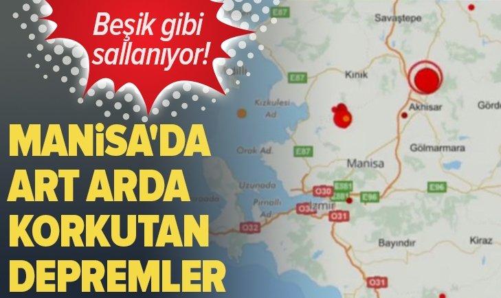 SON DAKİKA: MANİSA'DA 5,4 ŞİDDETİNDE DEPREM! İSTANBUL'DA DA HİSSEDİLDİ