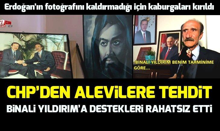 Aleviler'in Binali Yıldırım'a desteği CHP'yi rahatsız etti!
