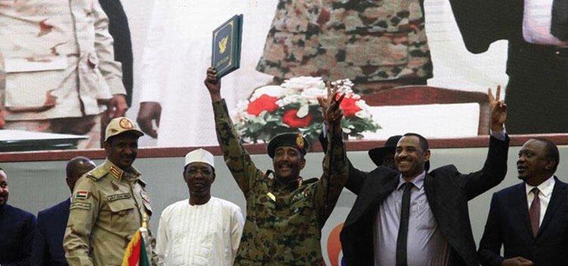 SUDAN'DA ANAYASAL BİLDİRİ ANLAŞMASI İMZALANDI