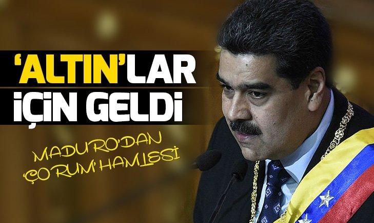 VENEZUELA DEVLET BAŞKANI MADURO'NUN YARDIMCISI ALTIN RAFİNERİSİ İÇİN ÇORUM'DA