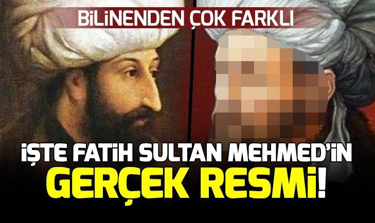 SULTAN MEHMED'İN GERÇEK RESMİ YILLAR SONRA ORTAYA ÇIKTI!