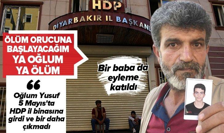 Yusuf Begdaş: Oğlum HDP binasına girdi bir daha çıkmadı