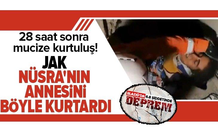 JAK TİMİ NÜSRA'NIN ANNESİNİ BÖYLE KURTARDI!