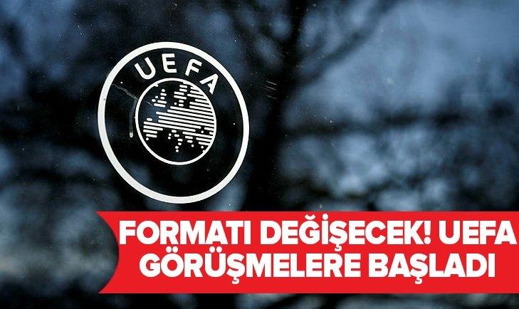 UEFA'DAN ÖNEMLİ KARAR! FORMATTA DEĞİŞİKLİK OLACAK