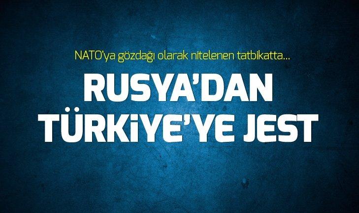RUSYA'DAN TÜRKİYE'YE JEST