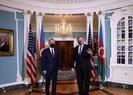 Azerbaycan Dışişleri Bakanı Bayramov ABD Dışişleri Bakanı Pompeo ile bir araya geldi
