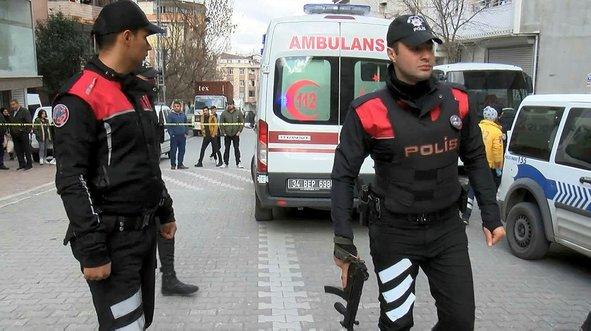 İstanbul'da hareketli dakikalar! Polis vurarak etkisiz hale getirdi