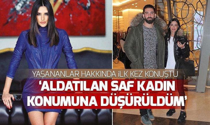 Arda Turan'ın eşi Aslıhan Doğan Turan yaşananla hakkında sessizliğini bozdu