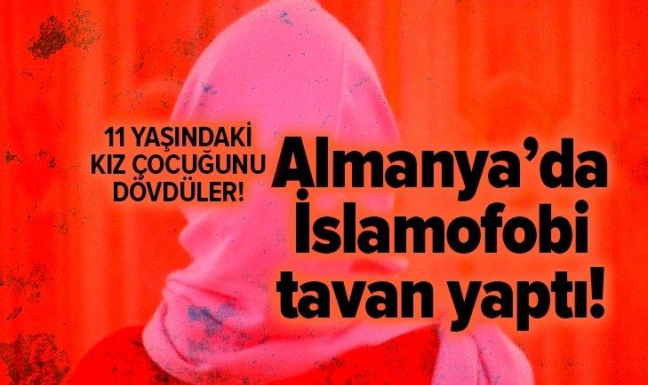 ALMANYA'DA İKİ AŞIRI SAĞCI, 11 YAŞINDAKİ BAŞÖRTÜLÜ KIZ ÇOCUĞUNU DÖVDÜ